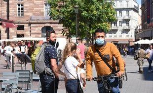 Le port du masque est obligatoire à Strasbourg depuis le samedi 29 août.