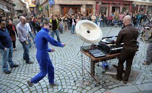 Fête de la Musique à Strasbourg. (Illustrations)