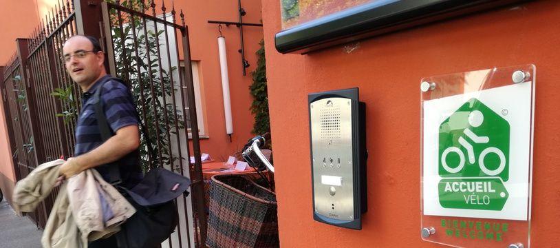 L'hôtel Le Dragon est le premier établissement de genre d'Alsace à disposer du label Accueil vélo.