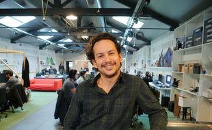 David Alric, cofondateur de Bobbypills.