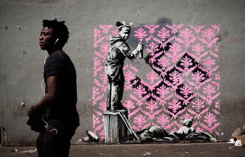 [Jeu] Association d'images - Page 6 830x532_oeuvre-banksy-degradee