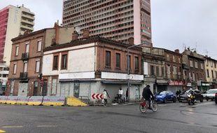 Quatre immeubles vont être démolis à l'angle de l'avenue de Lyon, le boulevard Pierre Semard et la rue du Maroc.