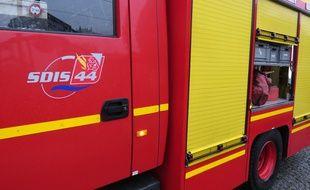 Des pompiers ˆ Nantes.