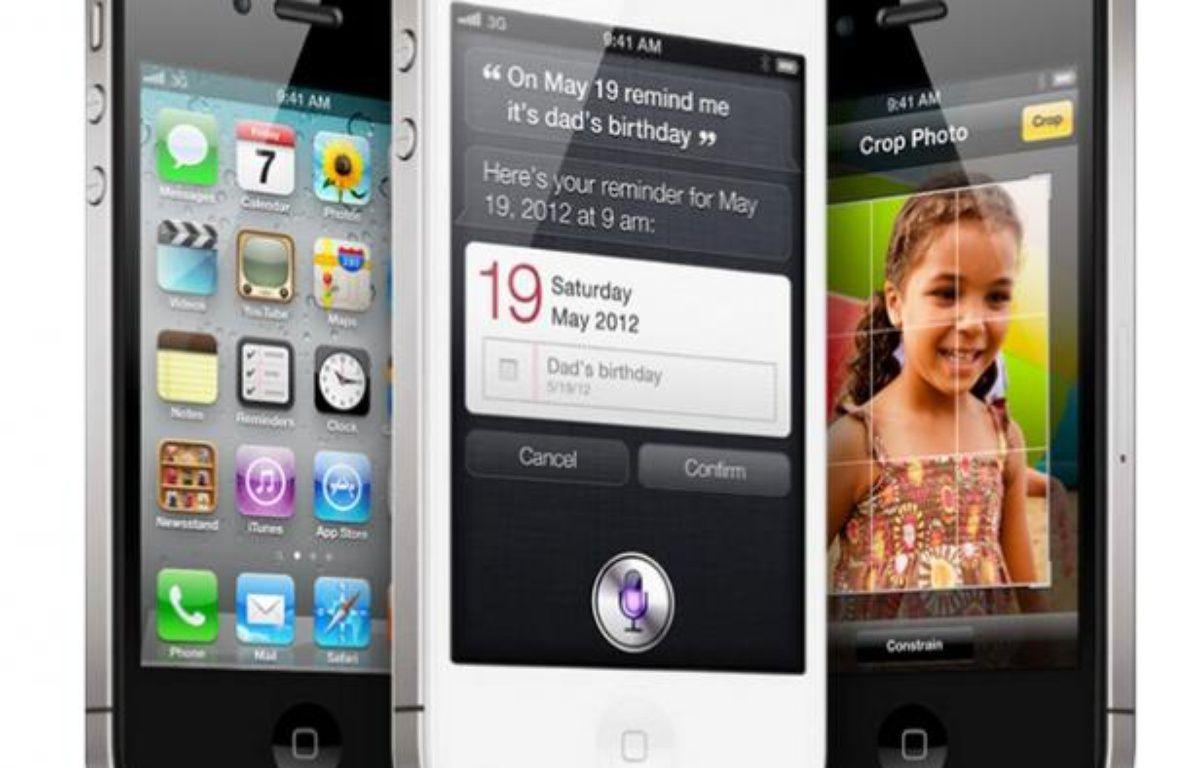 L'iPhone 4S propose le même design que l'iPhone 4. – DR