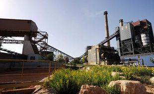 L'usine Alcan exploitée par la societé Rio Tinto à Gardanne.