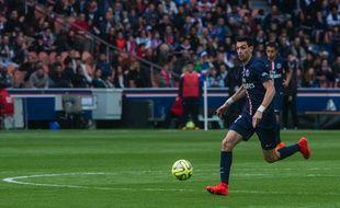 Javier Pastore lors du match entre le PSG et Lille le 25 avril 2015.