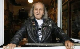 """Guy Gilbert, le """"curé des loubards"""", le 8 septembre 2015 à Paris"""