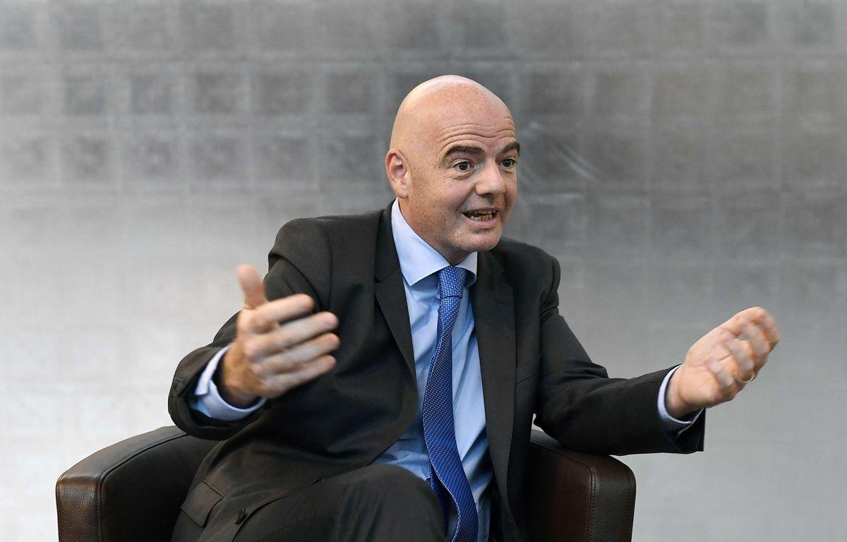 Gianni Infantino au siège de la Fifa à Zurich – Walter Bieri/AP/SIPA