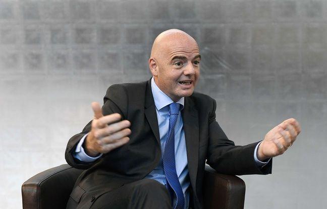 Gianni Infantino au siège de la Fifa à Zurich