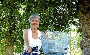 Nathalie a adopté le vélo électrique.