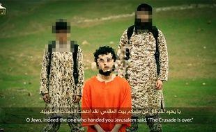 Capture d'image de la vidéo d'exécution de Daesh, le 10 mars 2015.