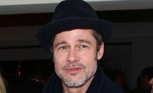 L'acteur américain Brad Pitt à Los Angeles.