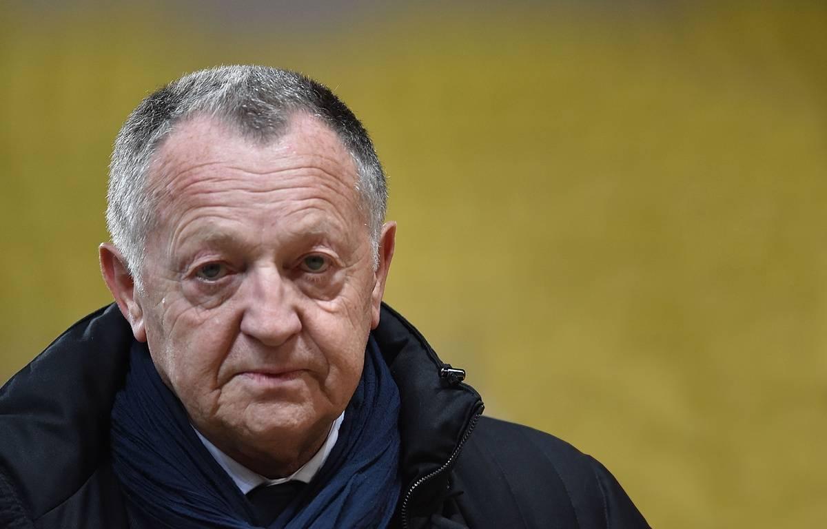 Jean Michel Aulas durant le match entre Monaco et Lyon le 1er février 2015. Credit:BEBERT BRUNO/SIPA/1502020650 – SIPA