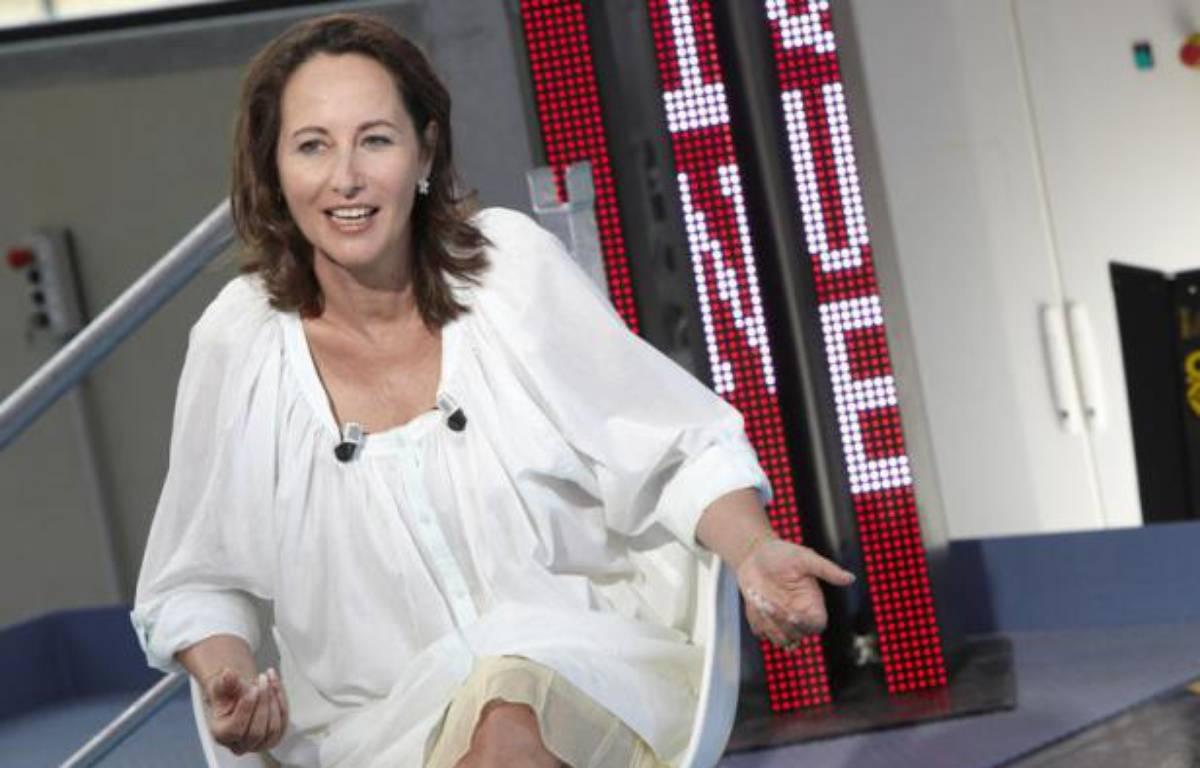 Ségolène Royal lors d'un émission surPublic Sénat – Thierry Sauvage / Public Sénat