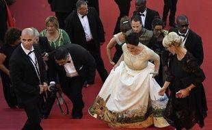 La ministre de la Culture Miri Regev au Festival de Cannes le 17 mai 2017
