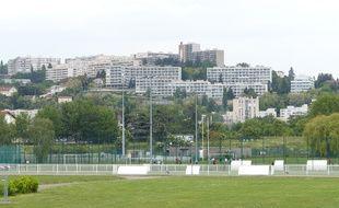 Le site de La Doua à Villeurbanne (Rhône).