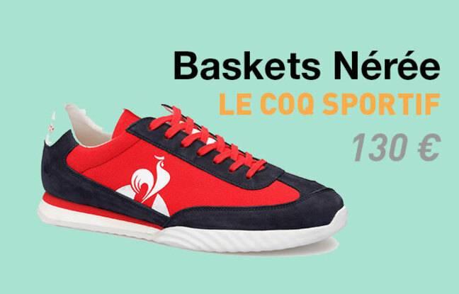 Baskets végétales Nérée du Coq Sportif