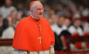 Le cardinal canadien Marc Ouellet