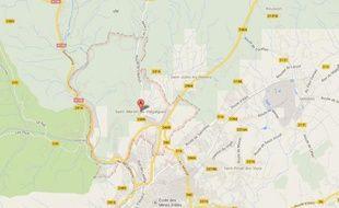 Capture d'écran de Saint-Martin-de-Valgalgues (Gard).