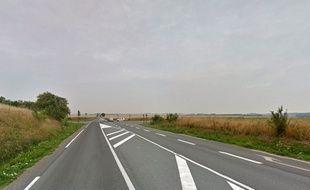 Le jeune Belge a été retrouvé dans un fossé le long de la RD 939, au Sud d'Arras, dans le Pas-de-Calais.