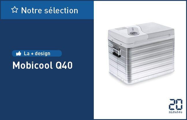 La glacière électrique Mobicool Q40.