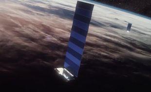 Starlink, le réseau internet de SpaceX, a été lancé en version beta en octobre 2020.