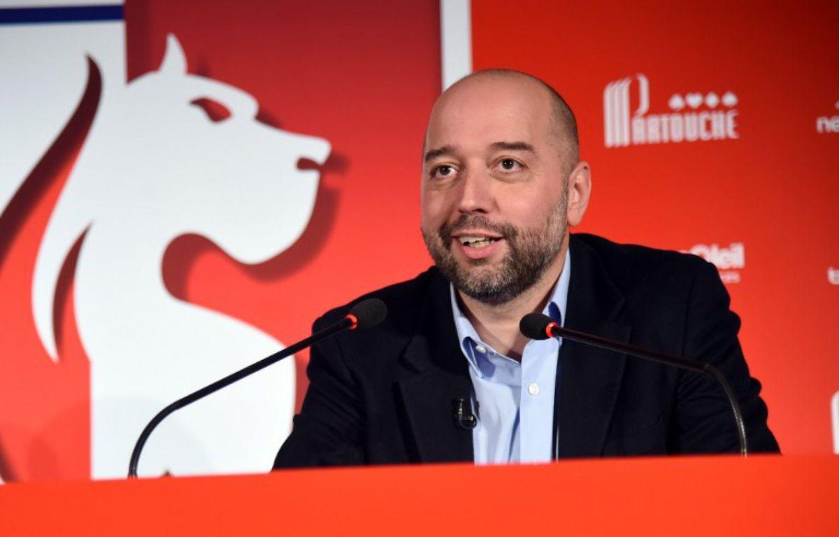 Gérard Lopez, le nouveau propriétaire du Losc – FRANCOIS LO PRESTI / AFP