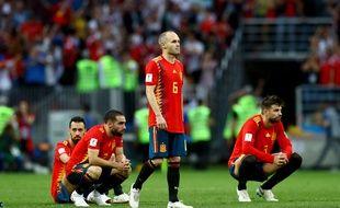 Andres Iniesta face à la Russie