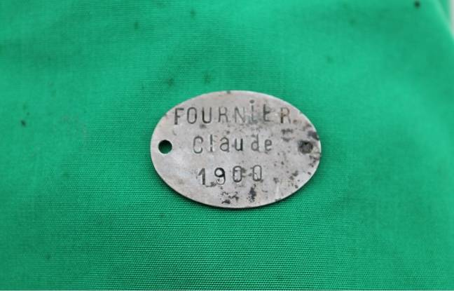 La plaque de Claude Fournier