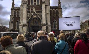 Obsèques de Chloé à Calais le 22 avril 2015