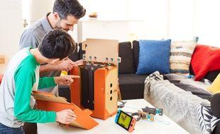 Nintendo Labo, un jeu qui devrait réunir les générations autour de la Switch et des loisirs créatifs.