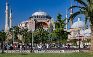 Sainte-Sophie à Istanbul