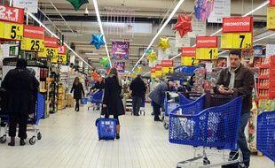 Supermarché. Image d'illustration.