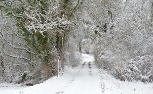 c'est beau la neige et les flocons... mais au printemps est-ce bien raisonnable ?