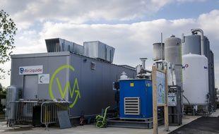 A Saint-Florentin, dans l'Yonne, la wagabox purifie le gaz issu de la fermentation des ordures pour en faire du biométhane pur à 98%.