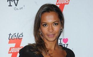 La présentatrice de «L'Amour est dans le pré», Karine Le Marchand, le 12 décembre 2012, à Paris.