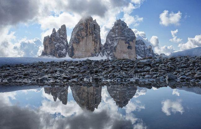 Les emblématiques Tre Cime di Lavaredo comptent parmi les voies d'escalade les plus courues au monde.