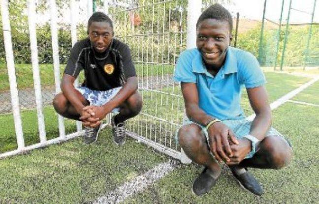 À 16 ans, Daouda Traoré et François Sall sont fiers d'avoir toujours vécu à la Duchère.