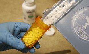 De l'hydroxychloroquine dans une pharmacie (image d'illustration).