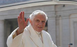 Benoît XVI en 2013, quand il n'avait que 85 ans.