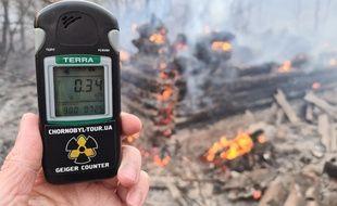 Un feu de forêt à proximité de la centrale de Tchernobyl en Ukraine a fait grimper les taux de radioactivité.