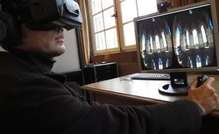 Strasbourg, le 29 janvier 2015 : Visite virtuelle immersive de la cathédrale de Strasbourg