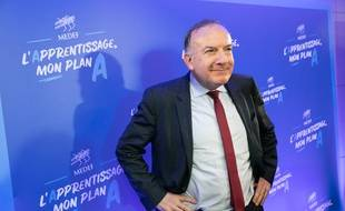 Pierre Gattaz le 25 avril 2018 à Paris.