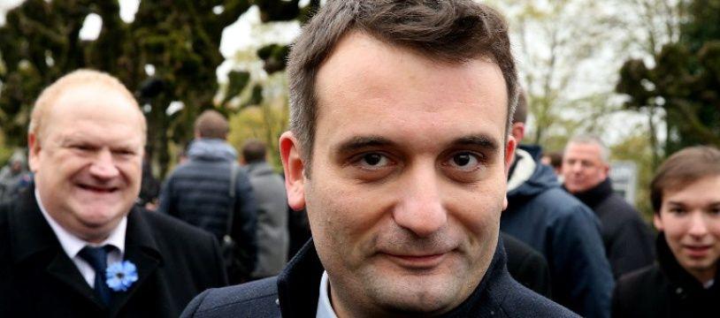 Florian Philippot, fondateur des Patriotes, le 9 novembre 2017.