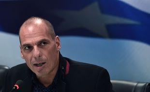 Le nouveau ministre de l'Economie Yanis Varoufakis à Athènes le 28 janvier 2014.