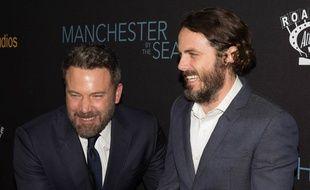 Les frères acteurs, Ben et Casey Affleck