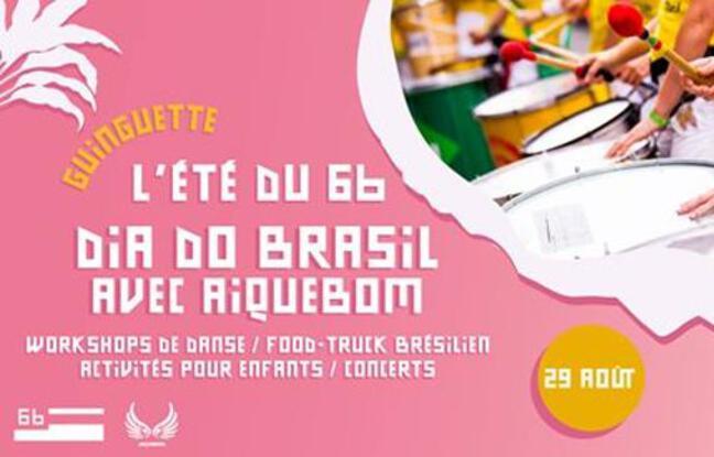 Visuel officiel de la journée do Brasil du 6b
