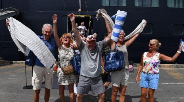 VIDEO. Coronavirus : la délivrance des passagers du Westerdam