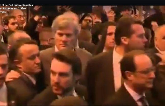 Extrait de la vidéo publiée par Patriotes en colères