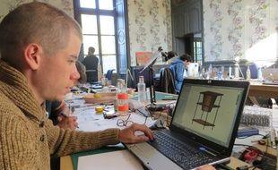 Les équipes de POC21 ont investi le château de Millemont pour développer leurs projets.